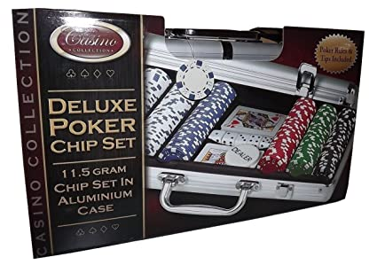 Amazon.com: Casino Collection Deluxe – 300 pieza Poker Chip ...