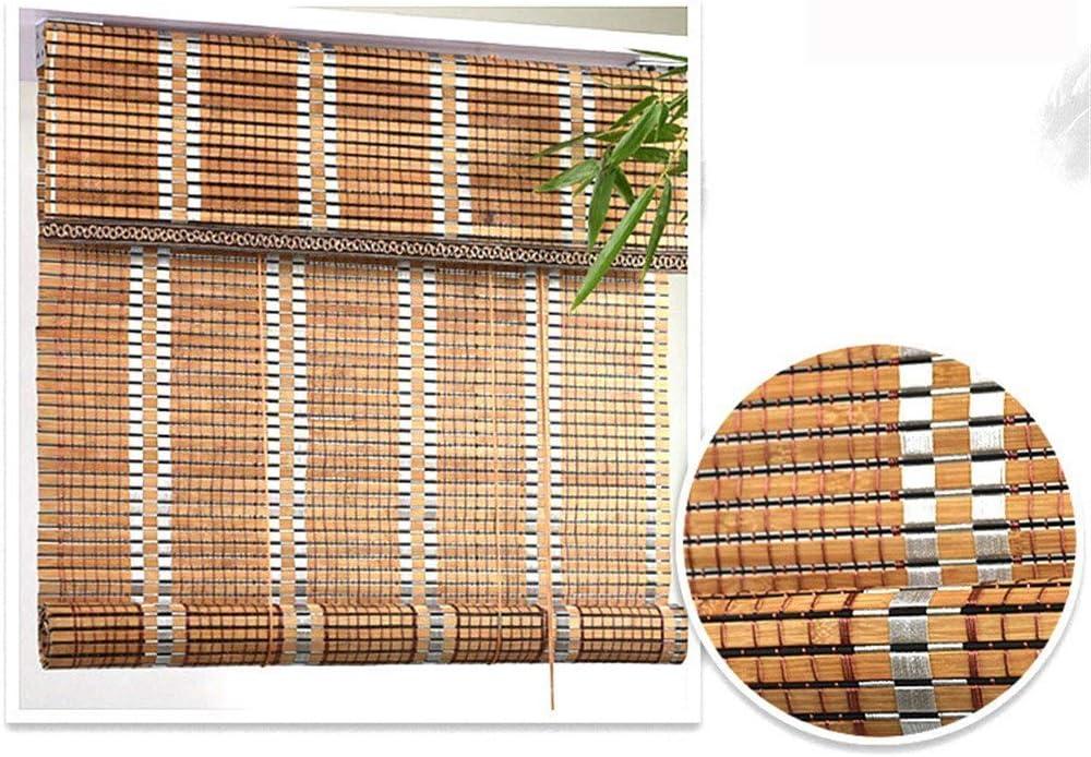 La cortina de bambú, persianas de la cortina de rodillos, exterior persianas de ventana de bambú cortina de privacidad Persiana apagón para el balcón, Cut Off, Patio Gazebo Pergola Cochera Parasol: Amazon.es:
