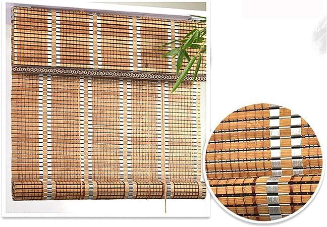 La cortina de bambú, persianas de la cortina de rodillos ...