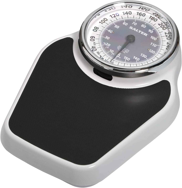 Amazon Com Salter Professional Analog 400lb Capacity Bathroom Scale Health Personal Care