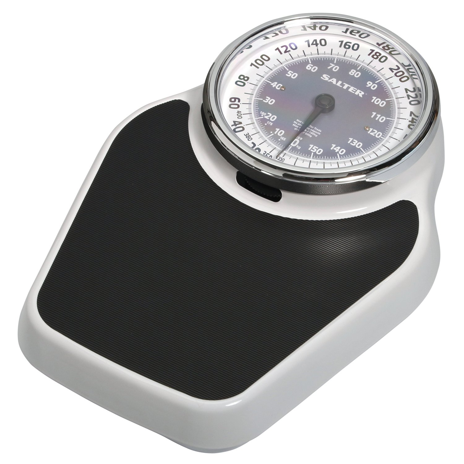Salter Professional Analog Mechanical Dial Bathroom Scale, 400 Lb. Capacity by Salter