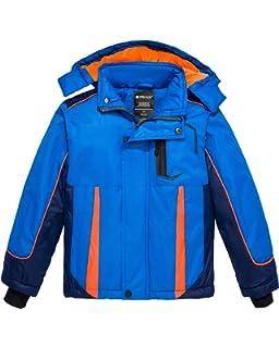 Amazon.com: Wantdo - Chaqueta de esquí para niño ...