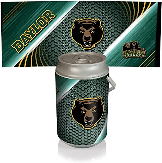 Silver Can Cooler, a Picnic Time brand Baylor Bears ONIVA