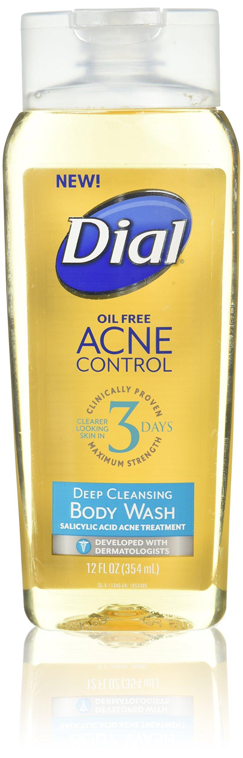 amazon com dial oil free acne control face wash 7 5 fl oz pack