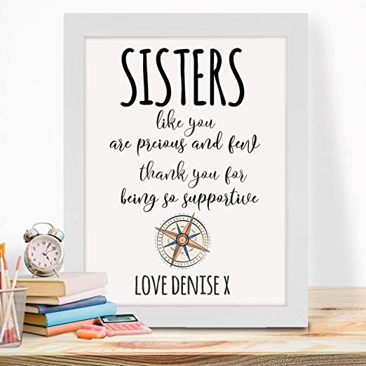 best friend Print  quote a4 glossy  picture poster UNFRAMED gift friends 18