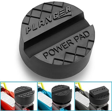PLANGER® - Power PAD flach - Wagenheber Gummiauflage für Rangierwagenheber-Universal Gummiauflage Wagenheber-Schützt Ihren PK