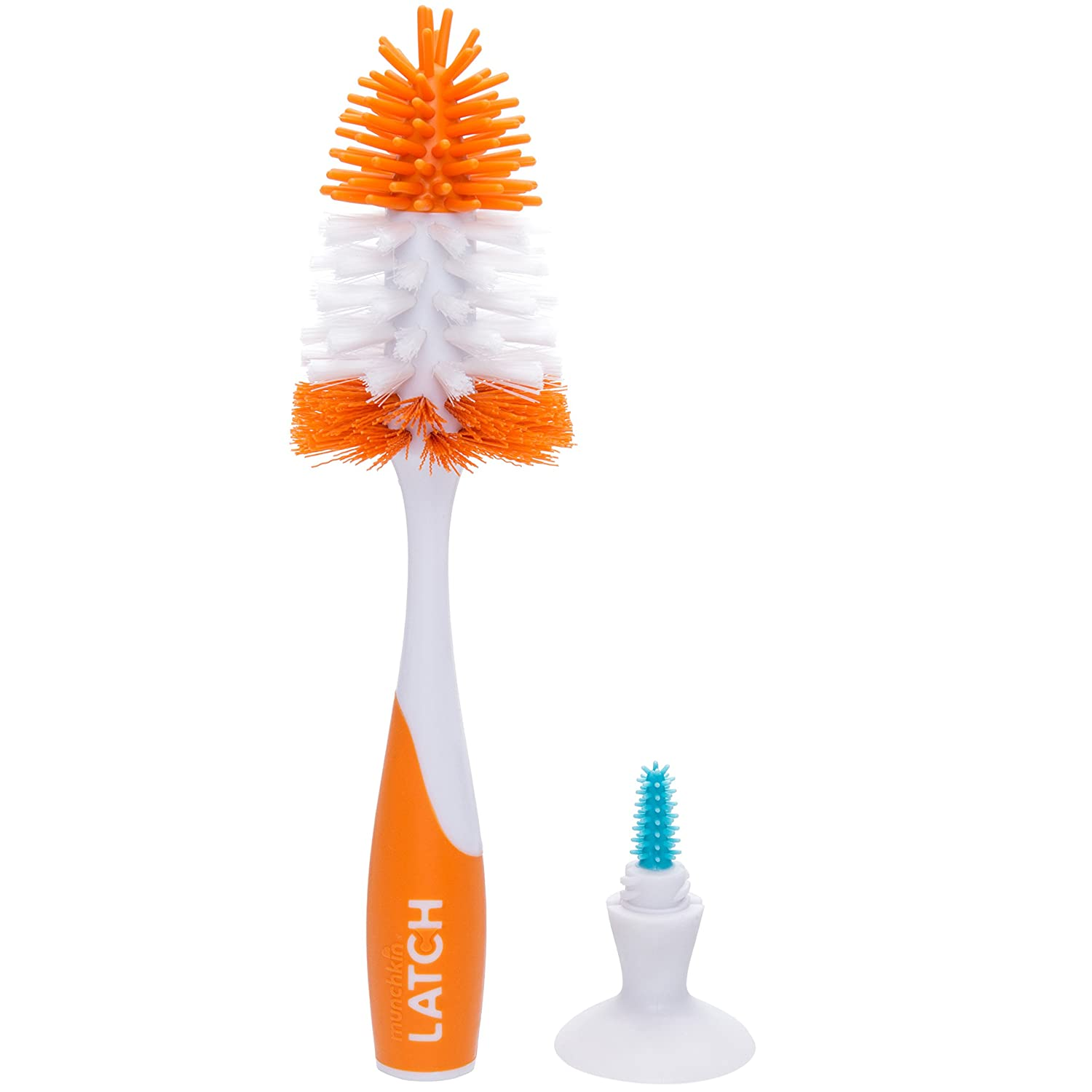 Munchkin LATCH Deluxe Bottle and Valve Brush 43545