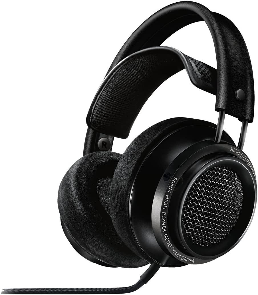 Philips X2 27 Fidelio Over Ear Headphone, Black Discontinued by Manufacturer