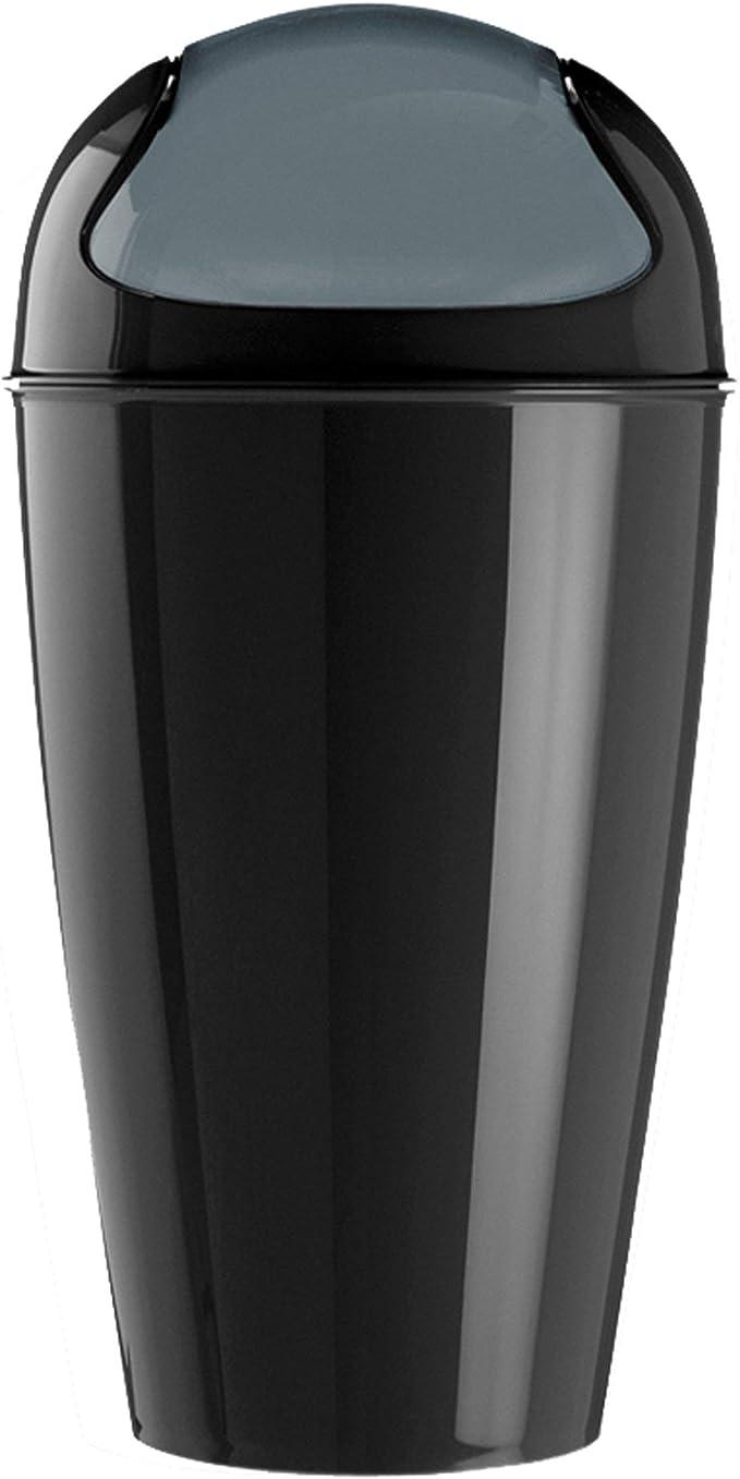 colore nero Koziol porta rifiuti XL