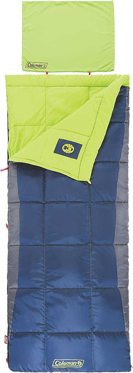 Coleman Alpine 50 Degree Sleeping Bag bed outdoor gear camping hiking