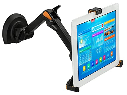 Mount-it! Universal Tablet Wall Mount For iPad | Tablet Wall Mount For  Kitchen | Tablet Arm Stand For iPad, Galaxy, Fire Tablets Up To 10 4 Inches
