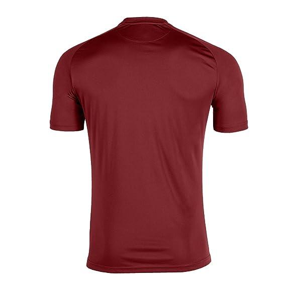 KiarenzaFD Joma Camiseta Tiger M/C Burgundy Fútbol Fashion Camiseta para Hombre: Amazon.es: Deportes y aire libre