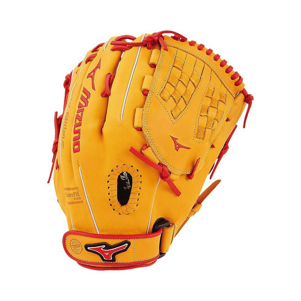 ミズノ グローブ MVP プライム SE ファストピッチGMVP1200PSEF6 内野手モデル B074SNZGQ5 CORK-RED|LEFT HAND CORK-RED