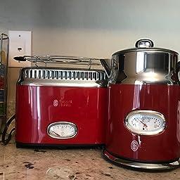 Amazon.com: Russell Hobbs Tetera eléctrica de estilo retro ...