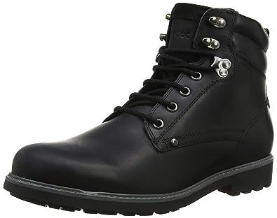 eb1226a7 Geox Men's U Norwolk B Chukka Boots: Amazon.co.uk: Shoes & Bags