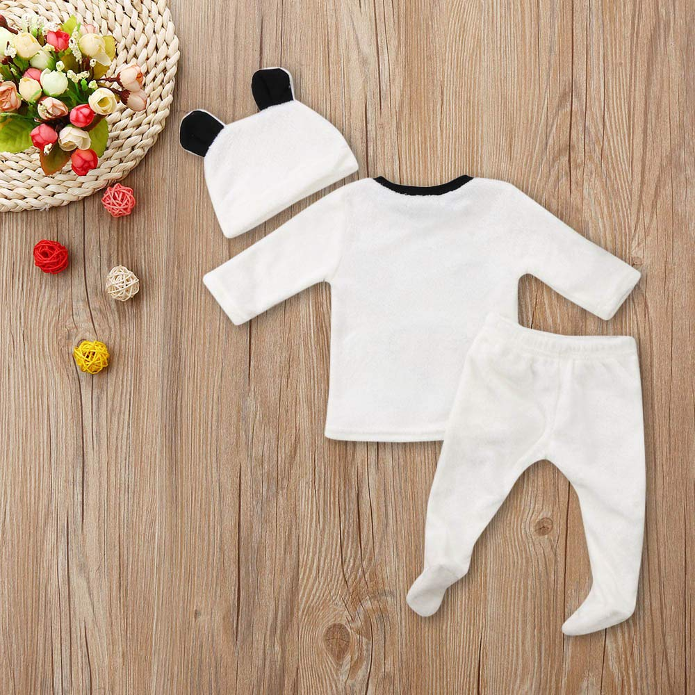 Amazon.com: Scaling❤Clothing Set for Boby 3Pcs Winter Newborn Baby ...