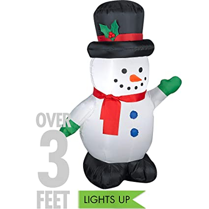 Amazon.com: Gemmy airblown hinchable, diseño de muñeco de ...