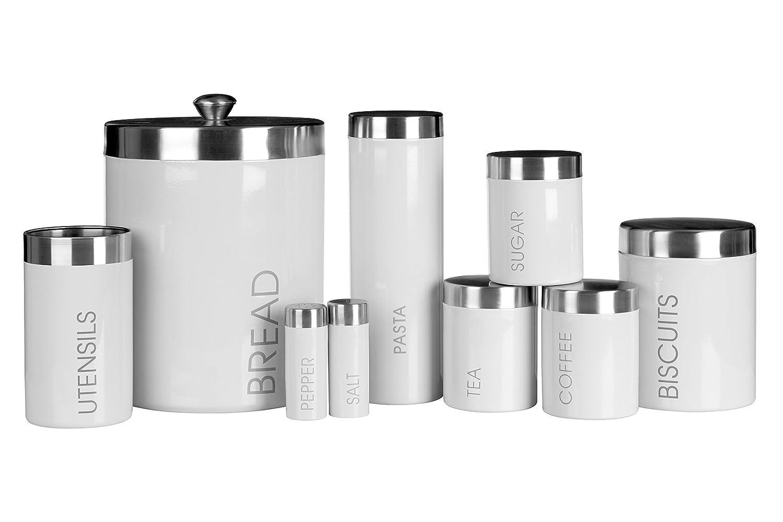 Premier Housewares 0510008 Set Barattoli per Tè, Caffè e Zucchero ...