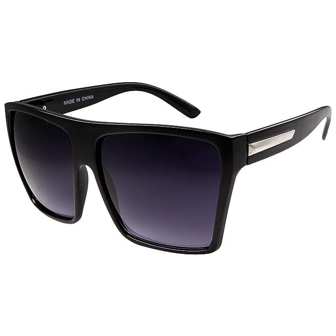 Amazon.com: Gafas de sol grandes estilo retro cuadradas ...