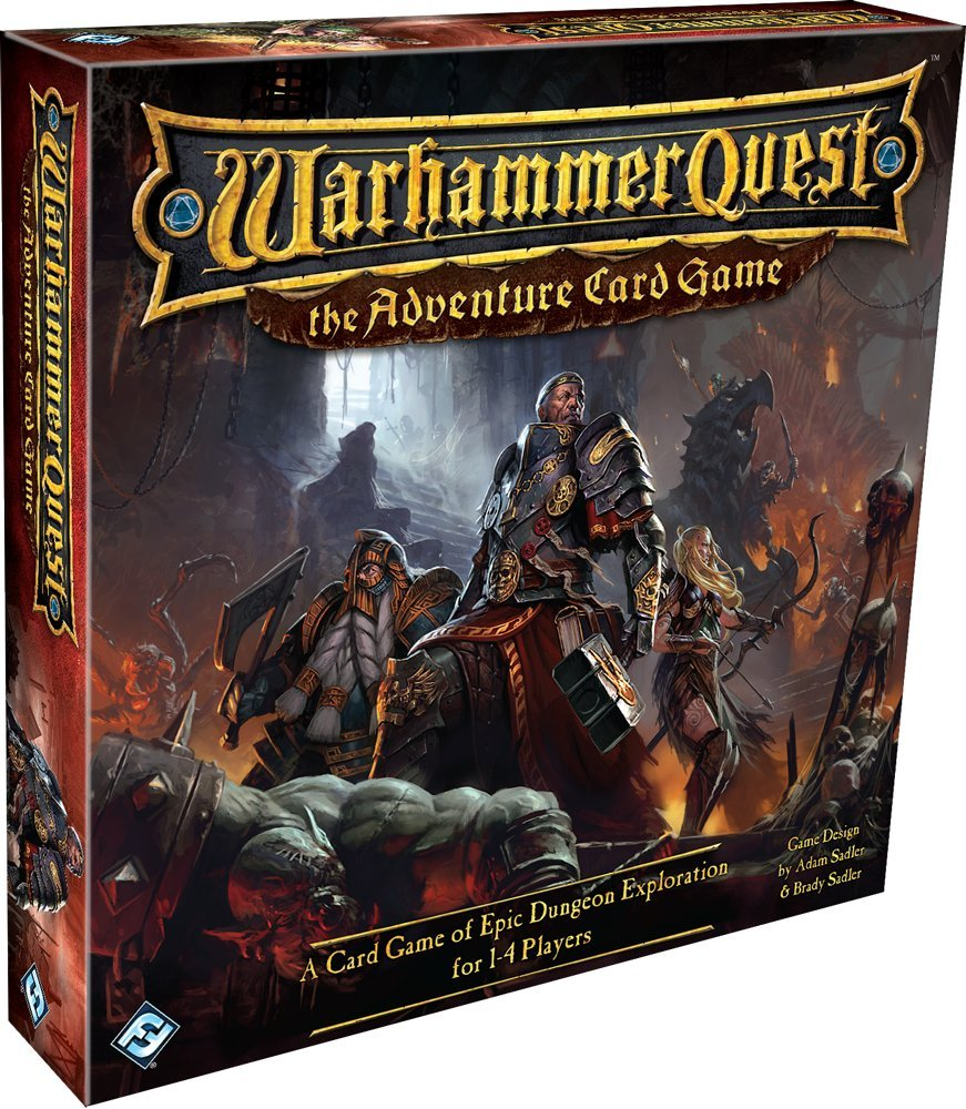 Fantasy Flight Games Warhammer Quest: The Adventure Card Game
