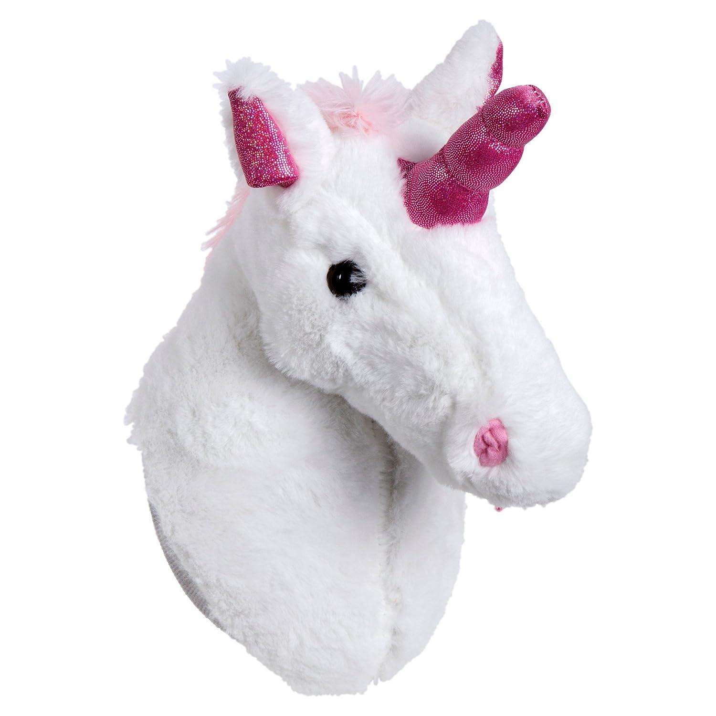 Truu Design Cute Ceramic Unicorn Money Bank, 5 x 7, White CTG Brands 65713