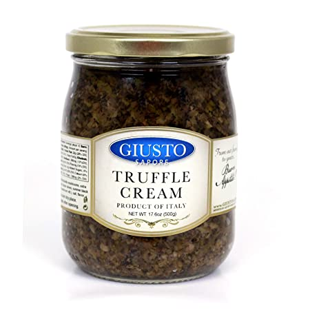 Amazon.com : Giusto Sapore Italian Truffle Cream - Premium Gourmet Cream - Imported from Italy and Family Owned : Grocery & Gourmet Food
