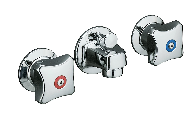 Shelf-Back Lavatory Faucet