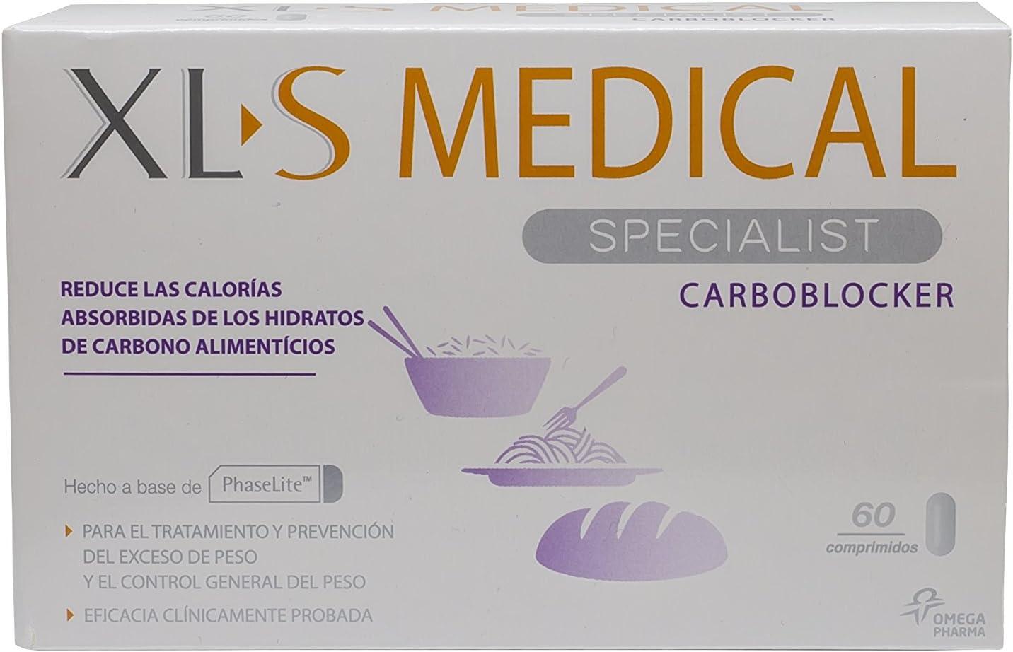 XLS Medical Carboblocker Ayuda Extra para Quienes Comen Una Gran ...