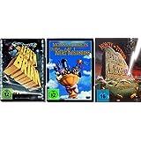 Monty Python Klassiker Collection - 3 Kultfilme (Das Leben des Brian, Die Ritter der Kokosnuss, Der Sinn des Lebens) im Set - Deutsche Originalware [3 DVDs]