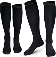 Cambivo Compression Socks for Women & Men, fit for Running, Athletic Sports, CrossFit, Flight, Travel, Pregnancy,...