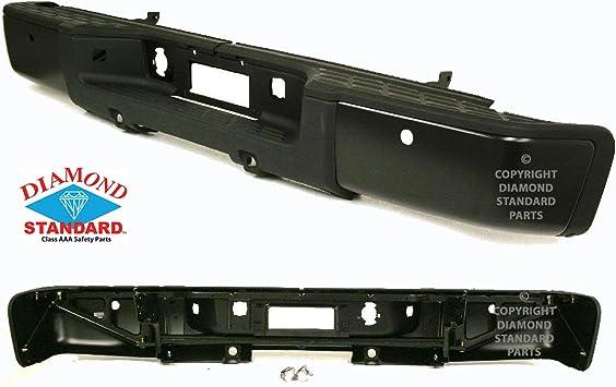 CAPA Front Textured Passenger Side Bumper End For Silverado 1500 07-13