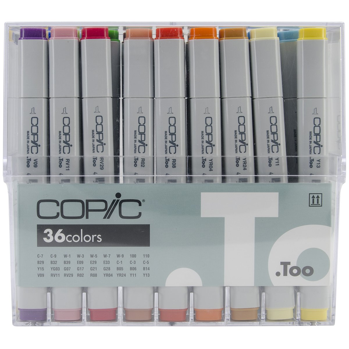 Copic Marker 36 Piece Original Basic Marker by Copic Marker