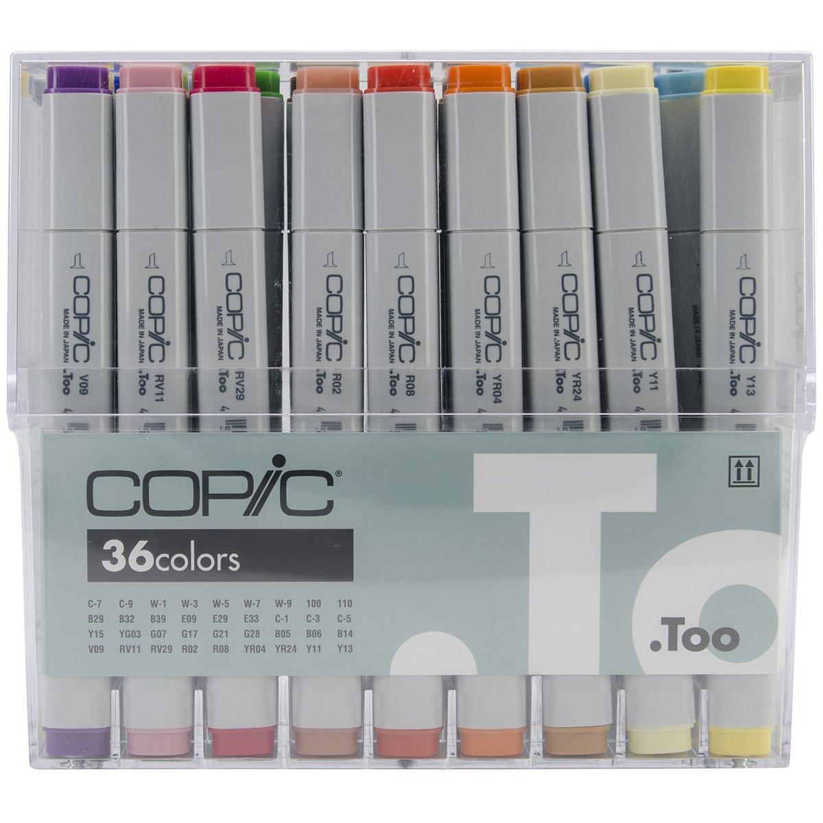 Copic Marker 36 Piece Original Basic Marker