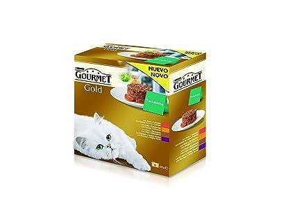 Purina Gourmet Gold Tartalette 1 Paquete Surtido de 8 x 85 gr - Total: 680 gr