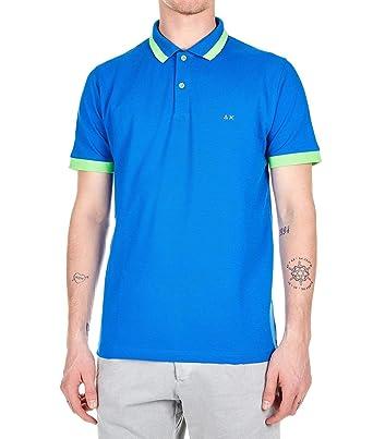 SUN 68 Luxury Fashion Hombre A1911958 Azul Polo | Temporada Outlet ...