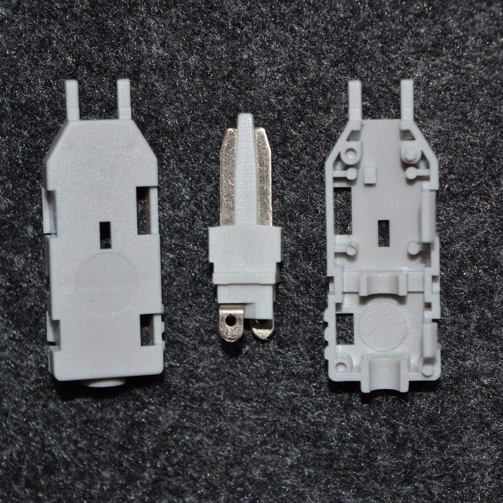 Facibom 10 Piezas 110 Cabeza De Prueba Rj11 Conector De Voz Verifique La Voz del Tel/éfono para Krone M/ódulo Panel De Conexi/ón De Telecomunicaciones