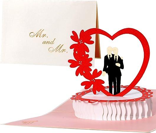 Partecipazioni Matrimonio Gay.Partecipazioni Matrimonio Gay 3d Inviti Matrimonio Gay Eleganti