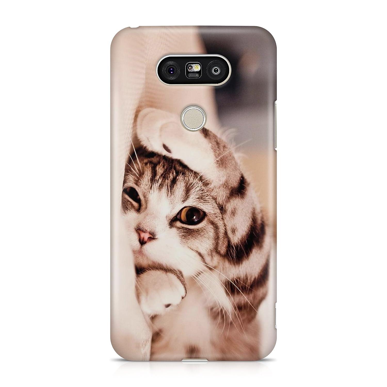 Cover Custodia Protettiva Case Little Puppy Cat Kid Sweet Dream Gatto Miao Meow Made in Italy Compatibile con LG G3 G4 G5 G6 V20 Q8 Q6 K4 K7 K10 K4-2017 K10-2017