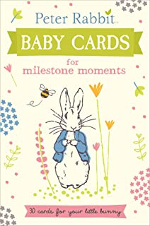 Peter Rabbit Baby Cards For Milestone Moments Beatrix Potter Gift Book