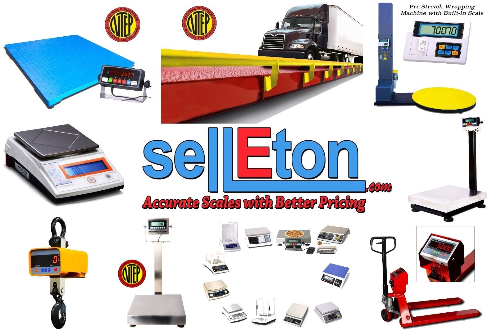 Selleton 60'' X 60'' (5'X5') Pit-Frame For Floor Scales | Pallet Scale | Industrial by Selleton (Image #2)