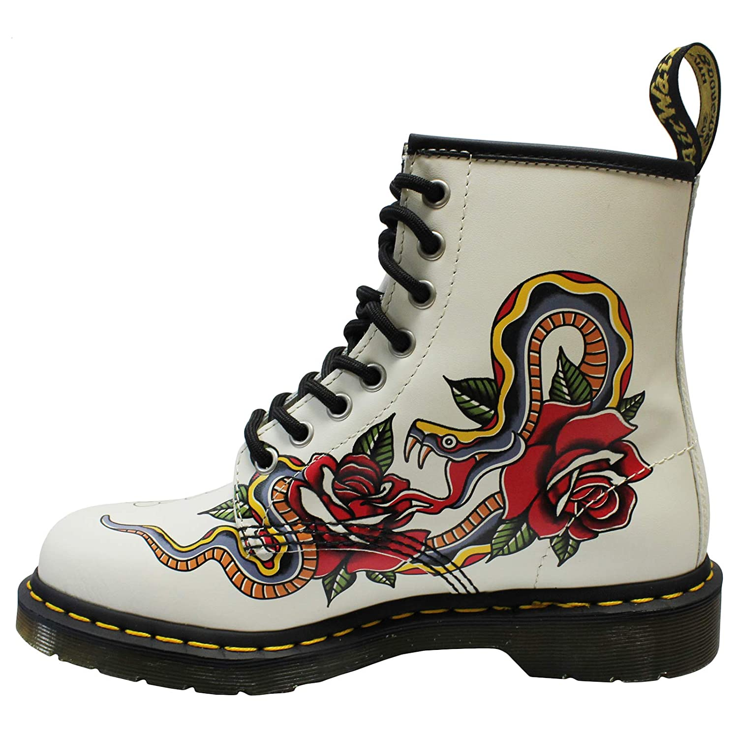 Dr. Martens Womens 1460 Grez 8-Eyelet Leather Boots B078ZJSXFH B078ZJSXFH B078ZJSXFH 10 B(M) US Women / 9 D(M) US Men Bone Multi 58a7f4