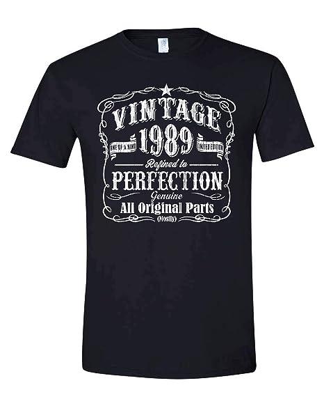 Amazon.com: Hecho en 1989, regalo de cumpleaños vintage para ...