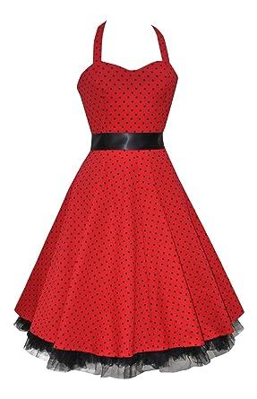 Love CamdenDamen Kleid Rot Rot