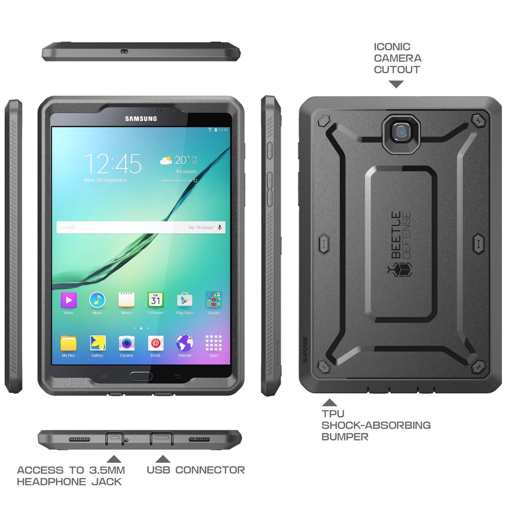 new style a824f 81051 Galaxy Tab S2 9.7 Case, SUPCASE [Heavy Duty] Case for Samsung Galaxy Tab S2  9.7 Tablet(SM-T810/T815/T813)[Unicorn Beetle Pro Series] Protective Cover  ...