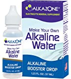 Alkazone Make Your Own Alkaline Water | 1 Pack Make 20 Gallon Of Alkaline Water | Alkaline Booster Drop | Single Pack 1.25 Oz |