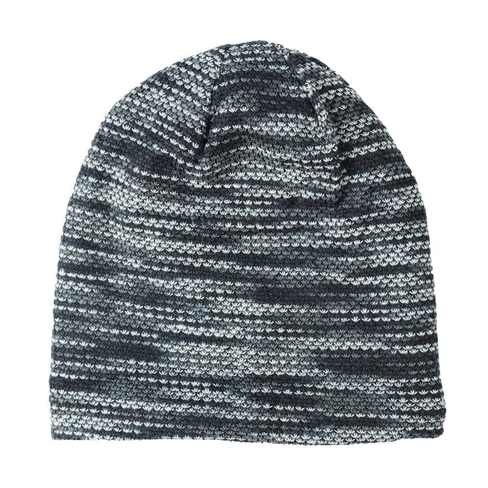 250fc70477d Amazon.com  VORCOOL Beanie hat for Men Women Fleece Lined Winter Warm Hats  Knit Thick Wool Cap(Grey)  Home   Kitchen