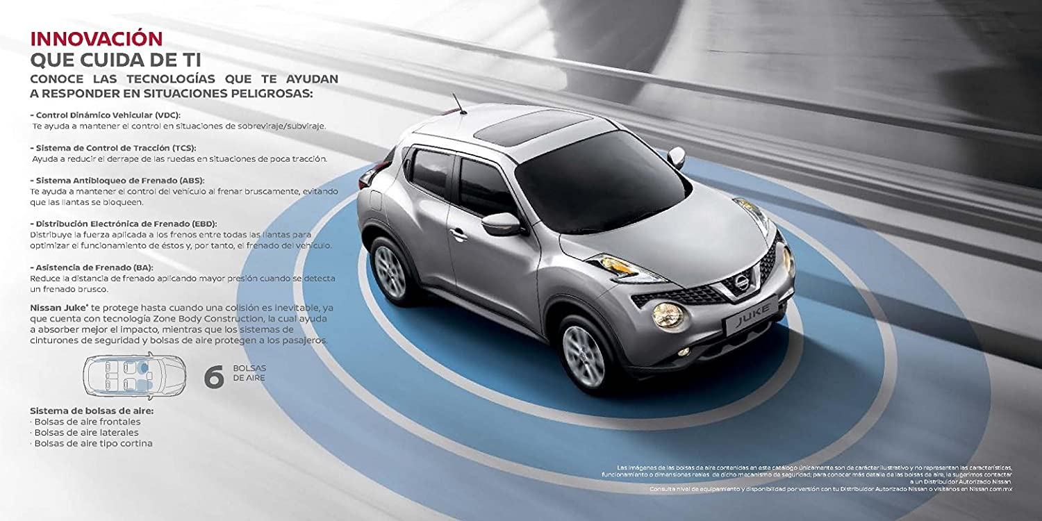 Amazon.com : 2017 NISSAN JUKE PRESTIGE COLOR SALES BROCHURE - MEXICO - SPANISH - BEAUTIFUL ORIGINAL!! : Everything Else