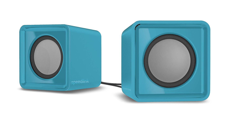 Speedlink SL-810004-TE Haut-parleurs sté ré o USB pour PC Turquoise