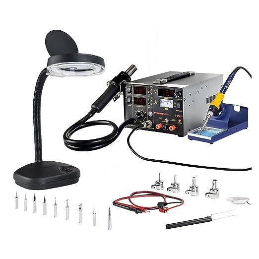 Stamos Soldering - S-LS-17 - Estación de soldadura - SMD - 75 W - 2 x LED - Envío Gratuito: Amazon.es: Bricolaje y herramientas