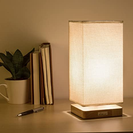 Review HAITRAL Table Lamp Bedside
